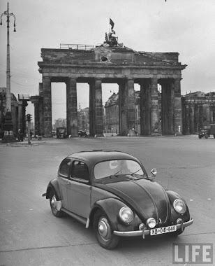 Fotos Históricas del VW Beetle