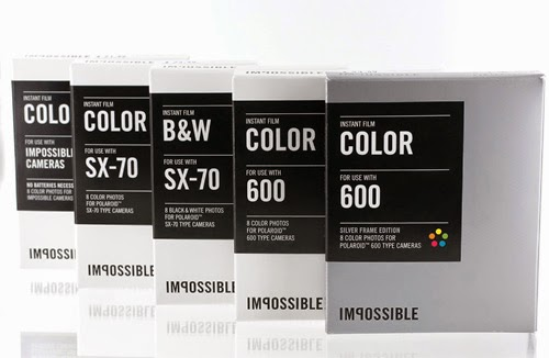 The Impossible Project Film for Polaroid 600 Instant Cameras
