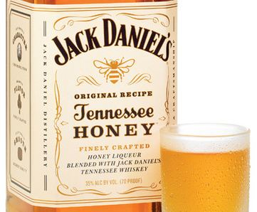 Jack Daniel s Launches Tennessee Honey  First New Whiskey in a    Jack Daniels Honey Whiskey Label