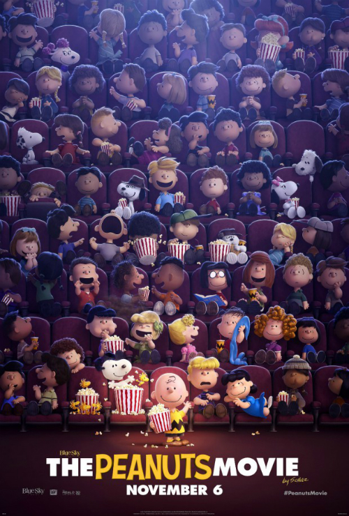 "Movie poster for ""The Peanuts Movie"""