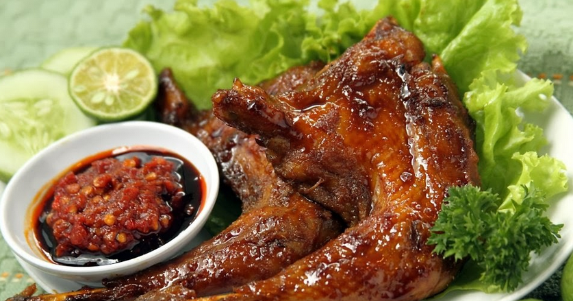 resep ayam bakar asem manis resep om