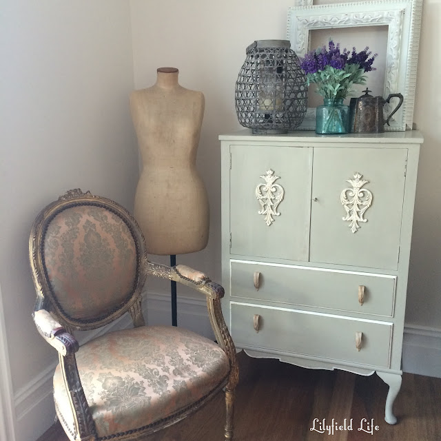 French Armoire Sydney Lilyfield Life hand painted