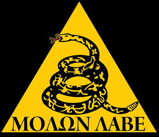 Molon Labe - Come and take them