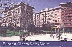 EDIFICIOS EUROPA - MADRID