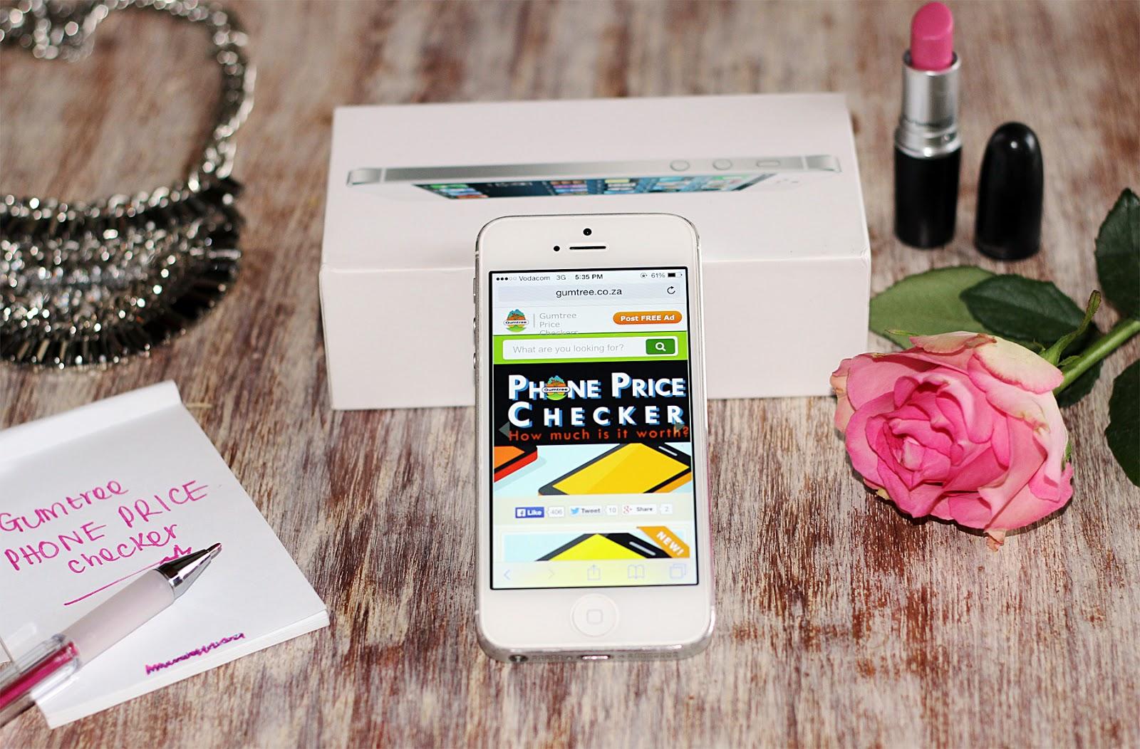gumtree, phone price checker, gumtree price checker, gumtree south africa