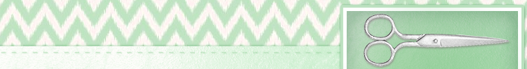 sewing etsy shop banner green