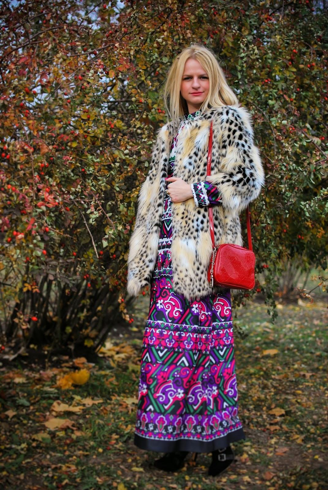 стиль, осенний лук,леопардовый принт,коста мода, Irina Pavlova, fashion blog