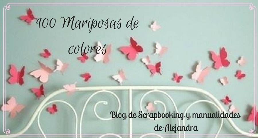 100 Mariposas de colores