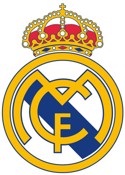 Real Madrid FC  Football Club  Logo Without Text