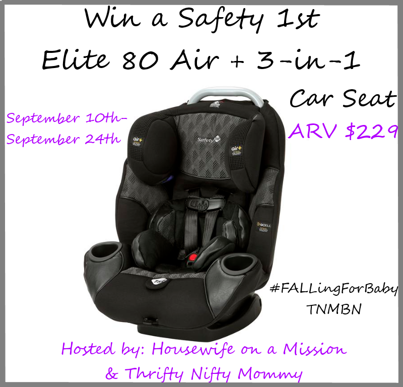 safety 1st elite 80 air 3 in 1 car seat fallingforbaby thrifty nifty mommy. Black Bedroom Furniture Sets. Home Design Ideas