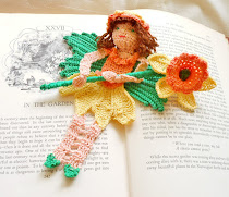 Daffodil Fairy bookmark pattern