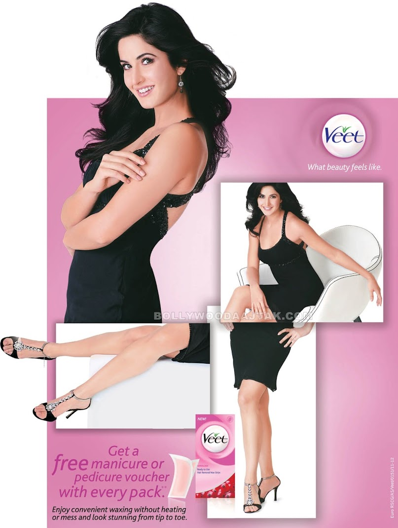 Katrina Kaif Veet Ad New Photoshoot Image