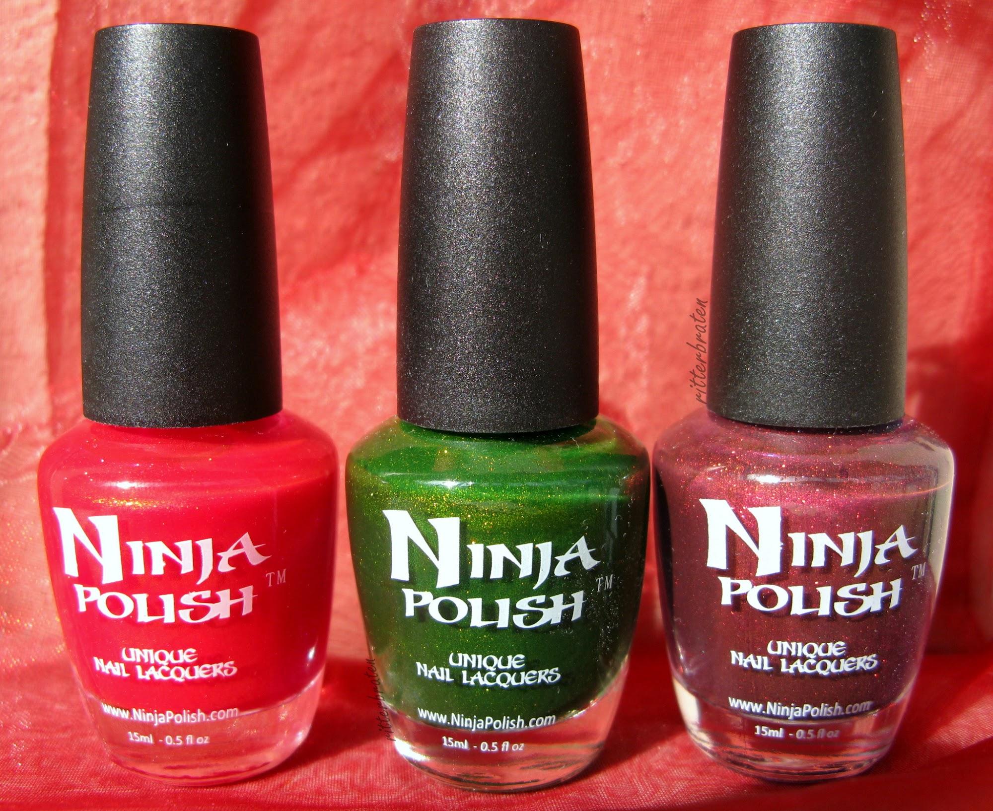 Ninja nail polish