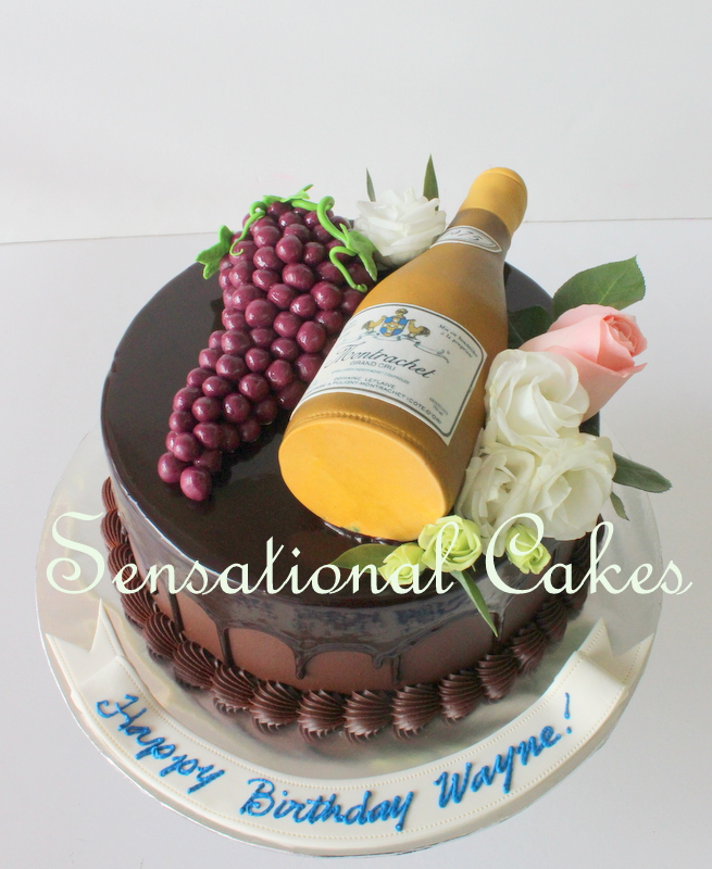 Care For Some Wine Dom Perignon GRAPES Champagne Red 3d Cake Singapore CABERNET SAUVIGNON WINE 3D BOTTLE CAKE SINGAPORE GRAPE RED