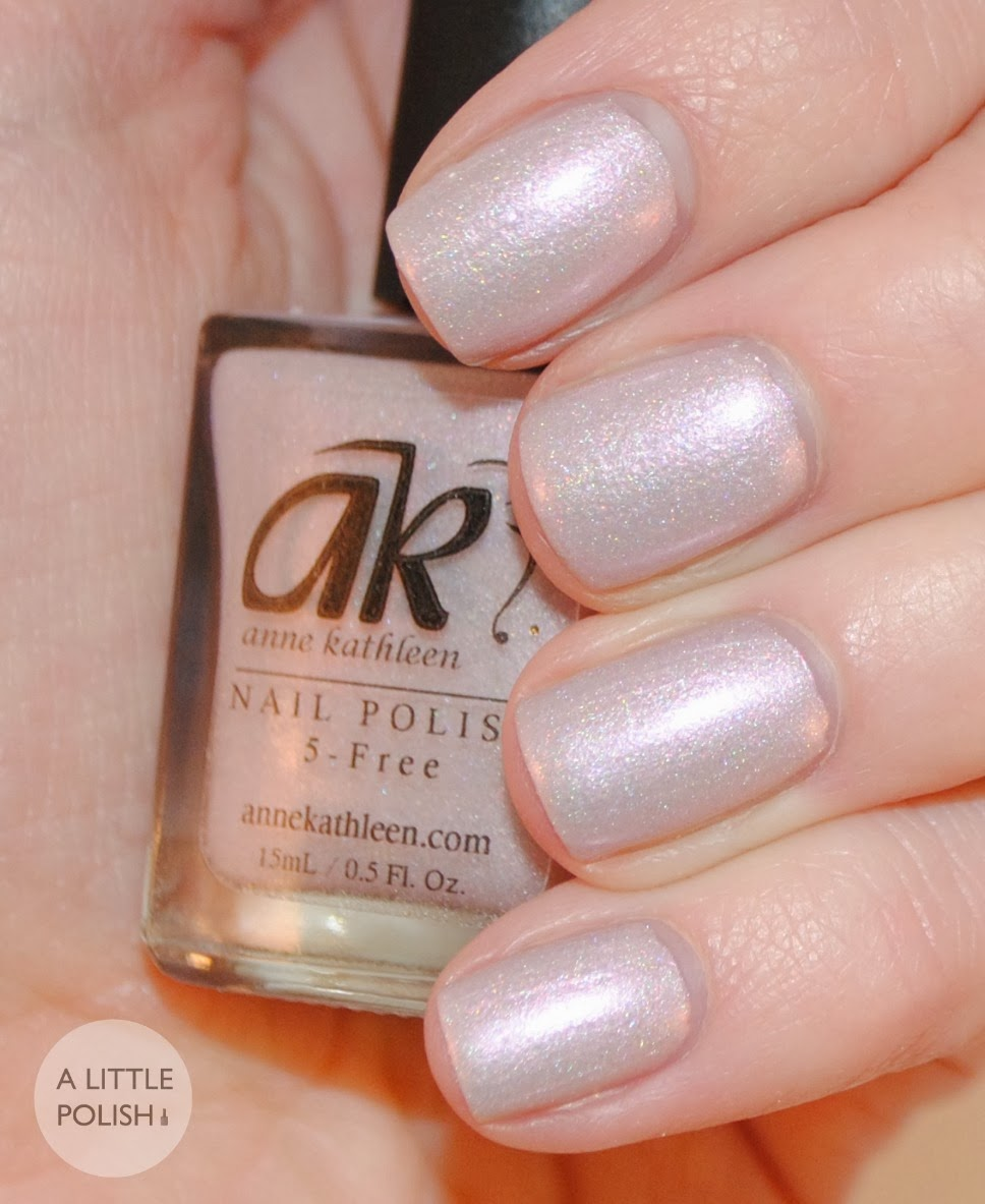 A Little Polish: Anne Kathleen Nail Polish - Swatches & Review