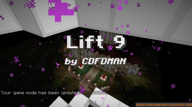 Mapa de aventuras Lift 9 Asylum