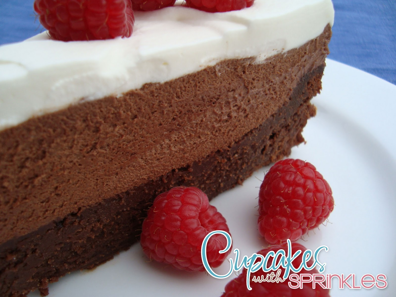 Cupcakes with Sprinkles: Chocolate Mousse Cake