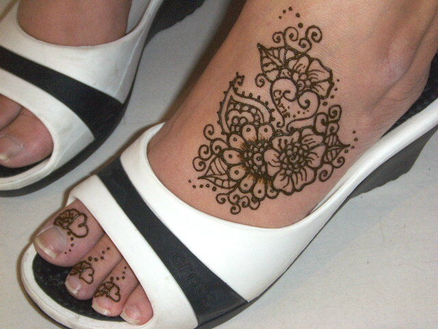 Easy Feet Mehndi Designs : Mehndi design designs for hands arabic