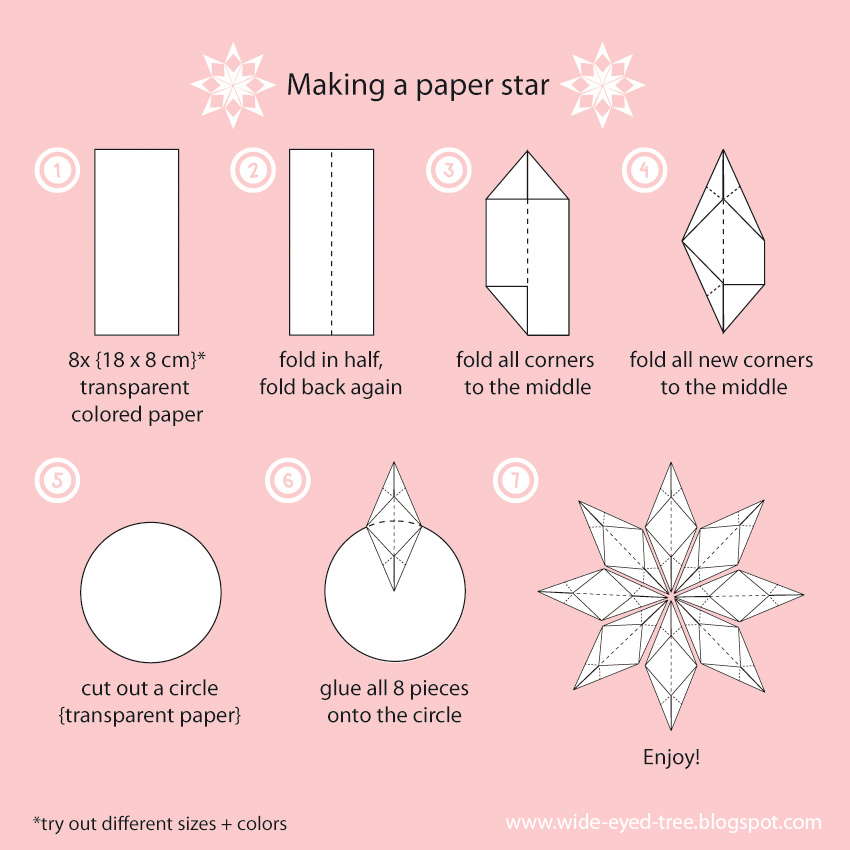 Amazing With How To Make Paper Stars. Fabulous ...