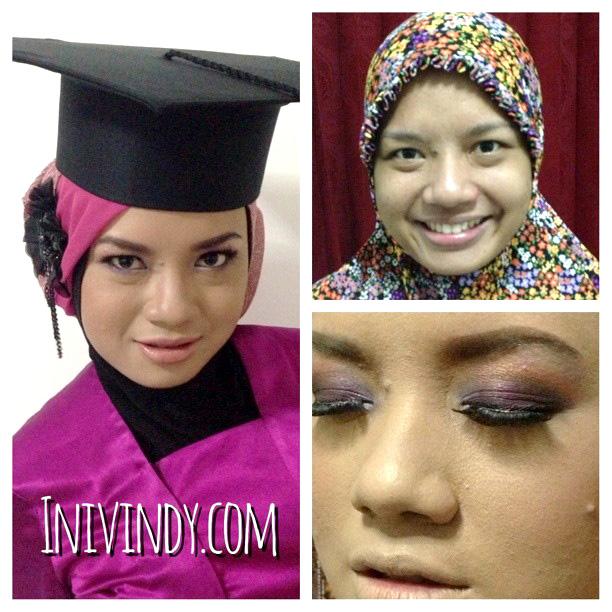 Up Agustus natural : Hijab  make Natural Make Makeover Wisuda Yang Vindy up hijab Dan Ajaib: