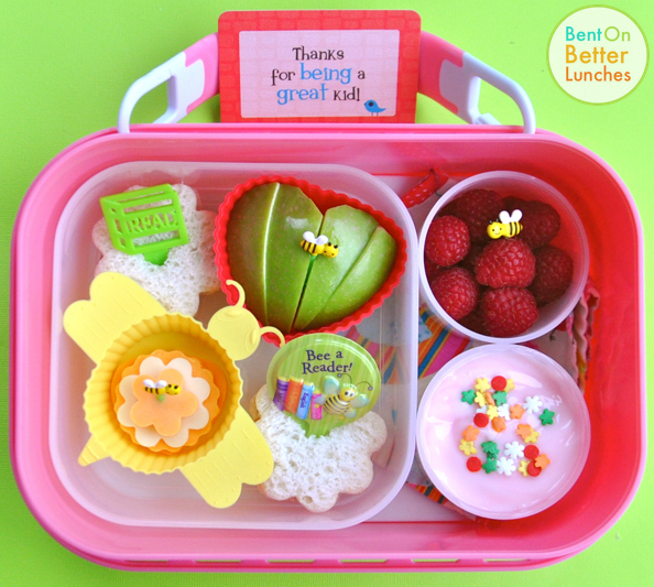 Bee a Reader yubo bento school lunch