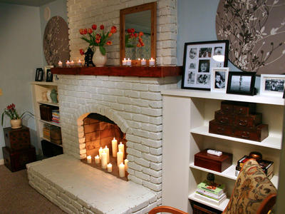 CORNER FIREPLACE DECORATING IDEAS | DREAM HOUSE EXPERIENCE