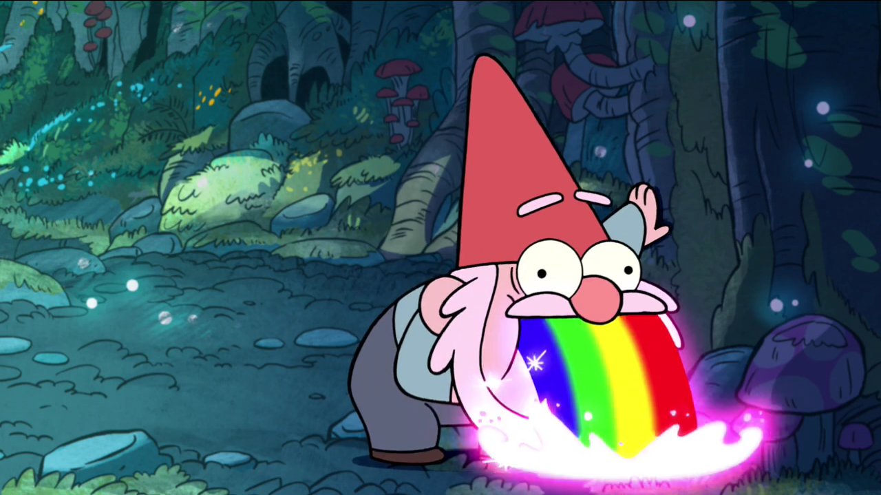 Vomiting gnomes are still funnier than vomiting wallets