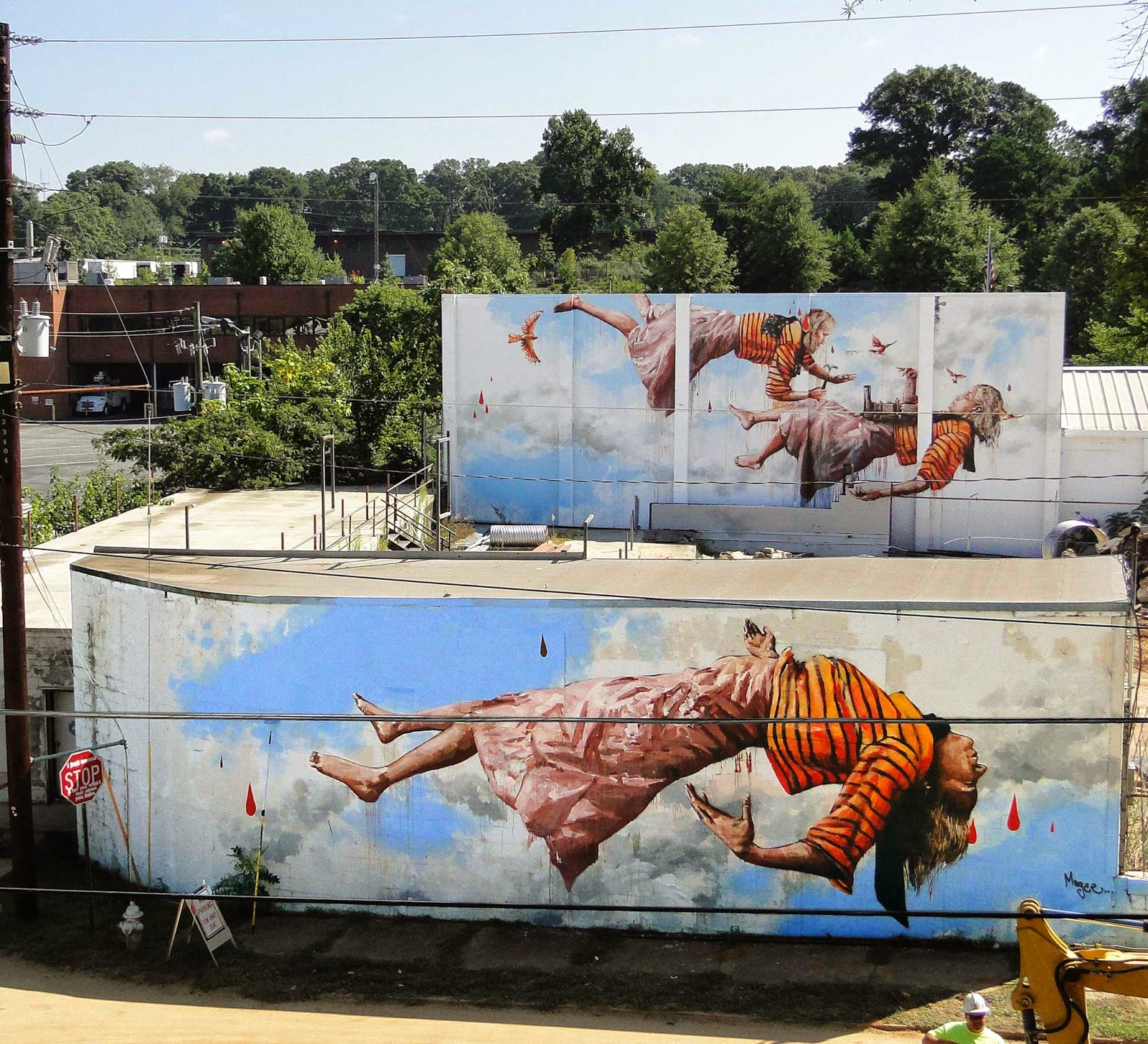 Fintan magee new mural atlanta usa streetartnews for Atlanta mural artist