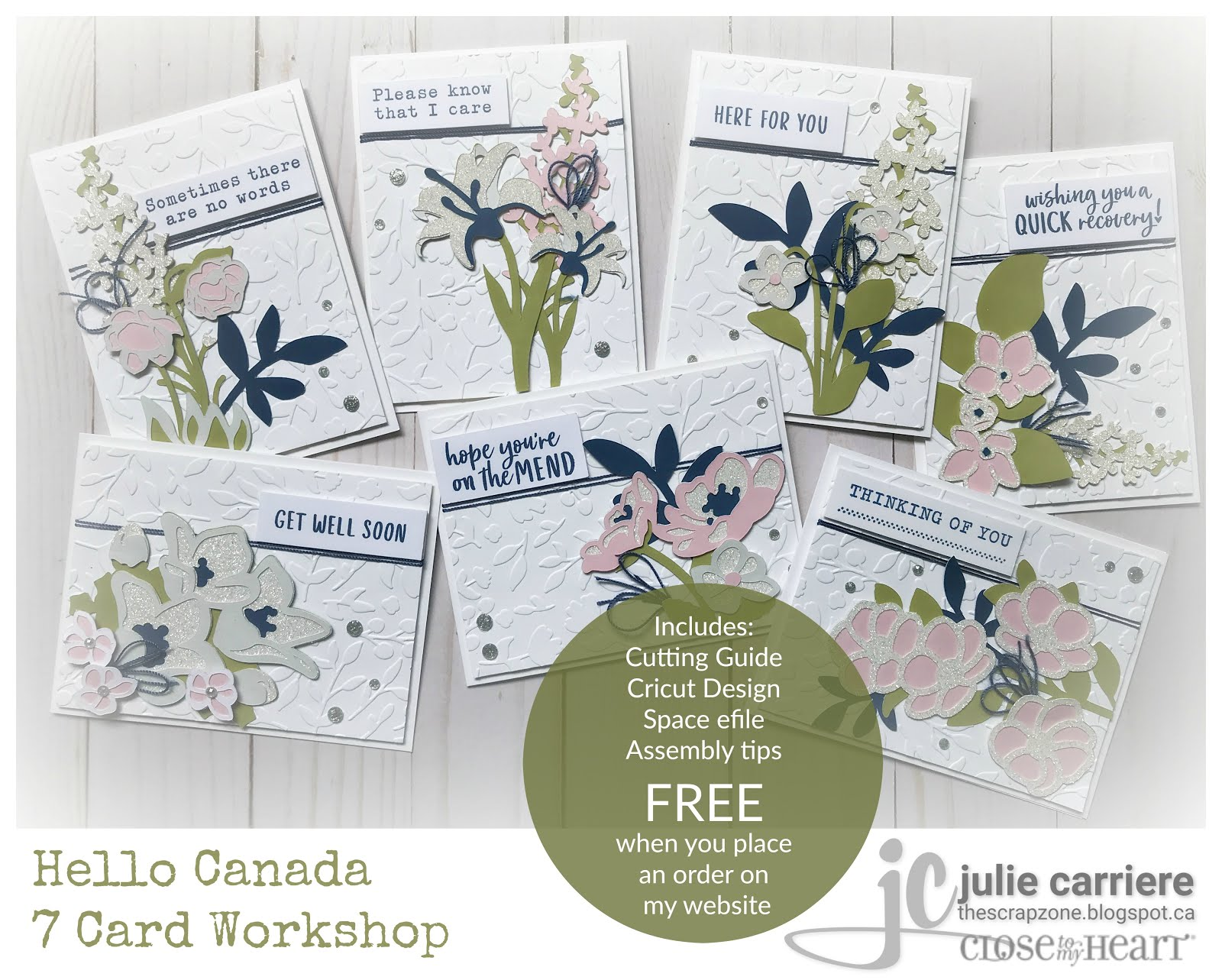 Hello Canada Cardmaking Assembly Guide