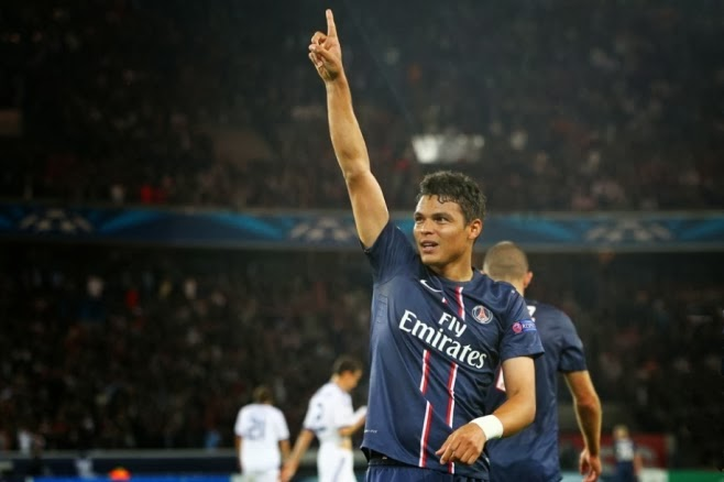 Thiago Silva happy at PSG