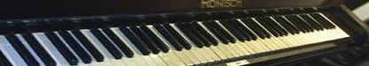 Música de piano y teclado, conocidos o composiciones mías.