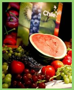 Chile es líder latinoamericano en alimentos