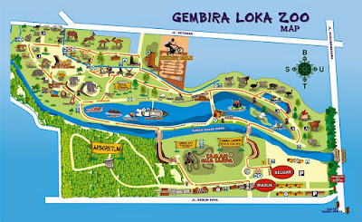 Wisata Keluarga di Kebun Binatang Gembira Loka Yogyakarta