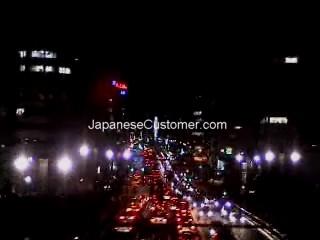 Tokyo night lights Copyright Peter Hanami 2005