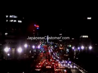 Street lights of Tokyo Copyright Peter Hanami 2005