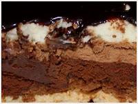 "<img alt="" Gâteau au chocolat croustillant."""
