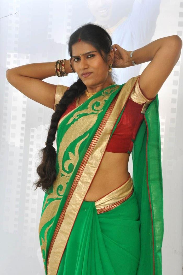 telugu serial actress in saree, bhavana in saree latest photo shoot ...