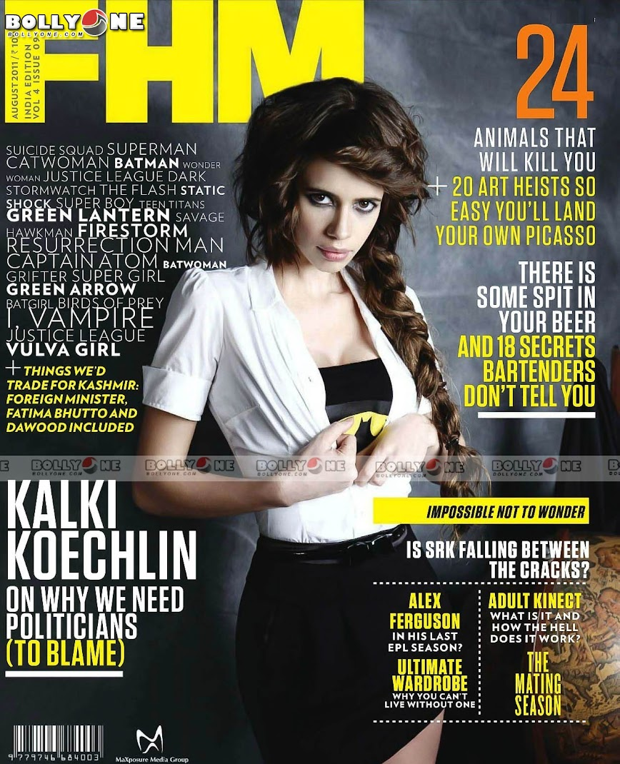 Kalki Koechlin FHM Magazine August 2011 HQ Pictures