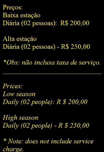 Preços/prices