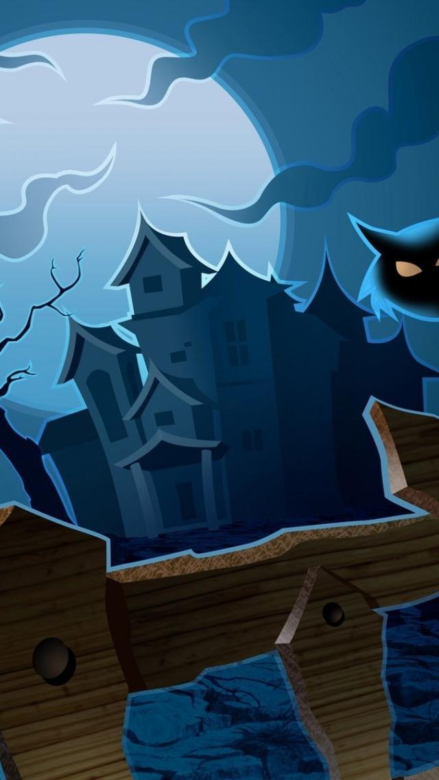 Free Download Halloween Iphone5 Wallpaper
