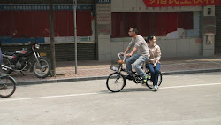 A typical scene in urban China.