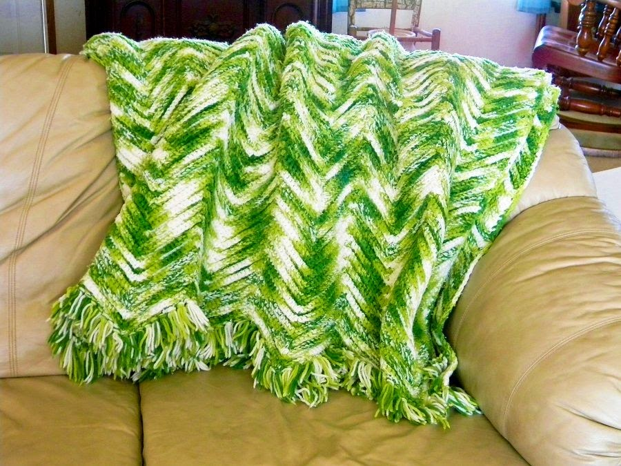Crocheted Ripple Aghan