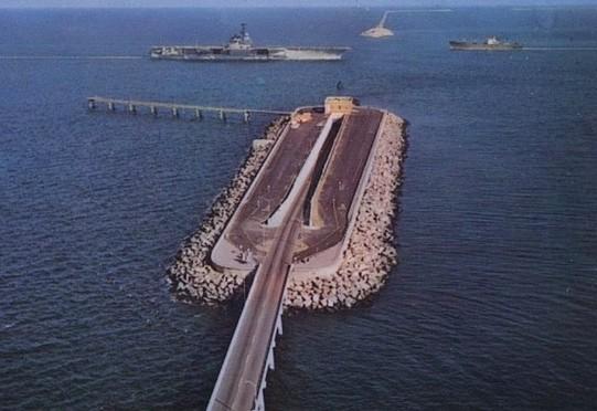Jembatan Chesapeake Bay Bridge-Tunnel