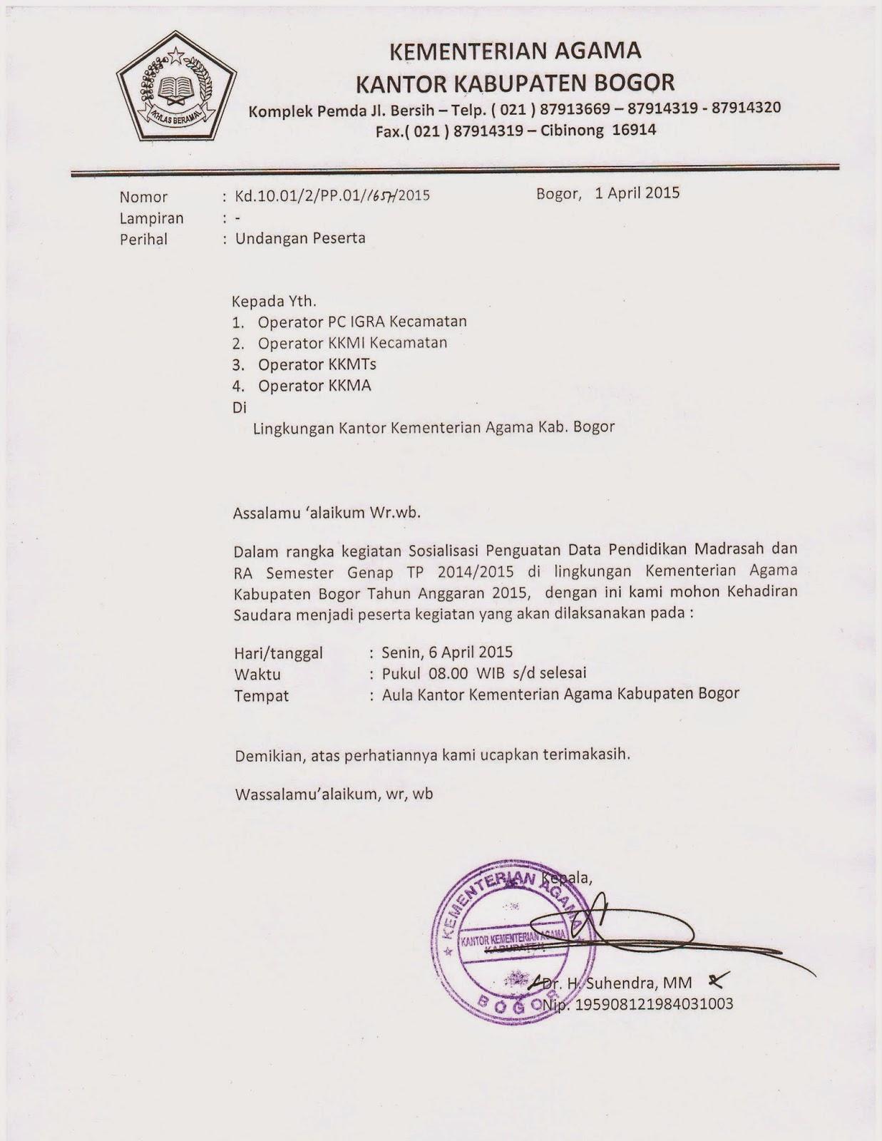 Berita Acara Rapat Anggota Tahunan Rat Kpri Amanah Kab Bogor