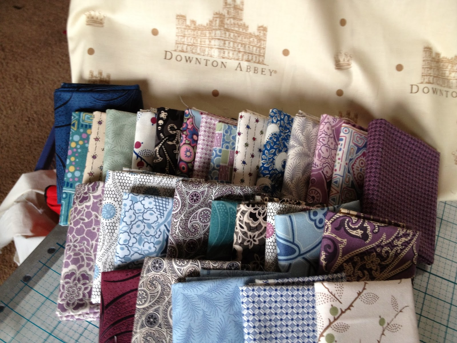 Annies Ruby Slipperz Making A Quilt With The Ladies Of Downton Abbey