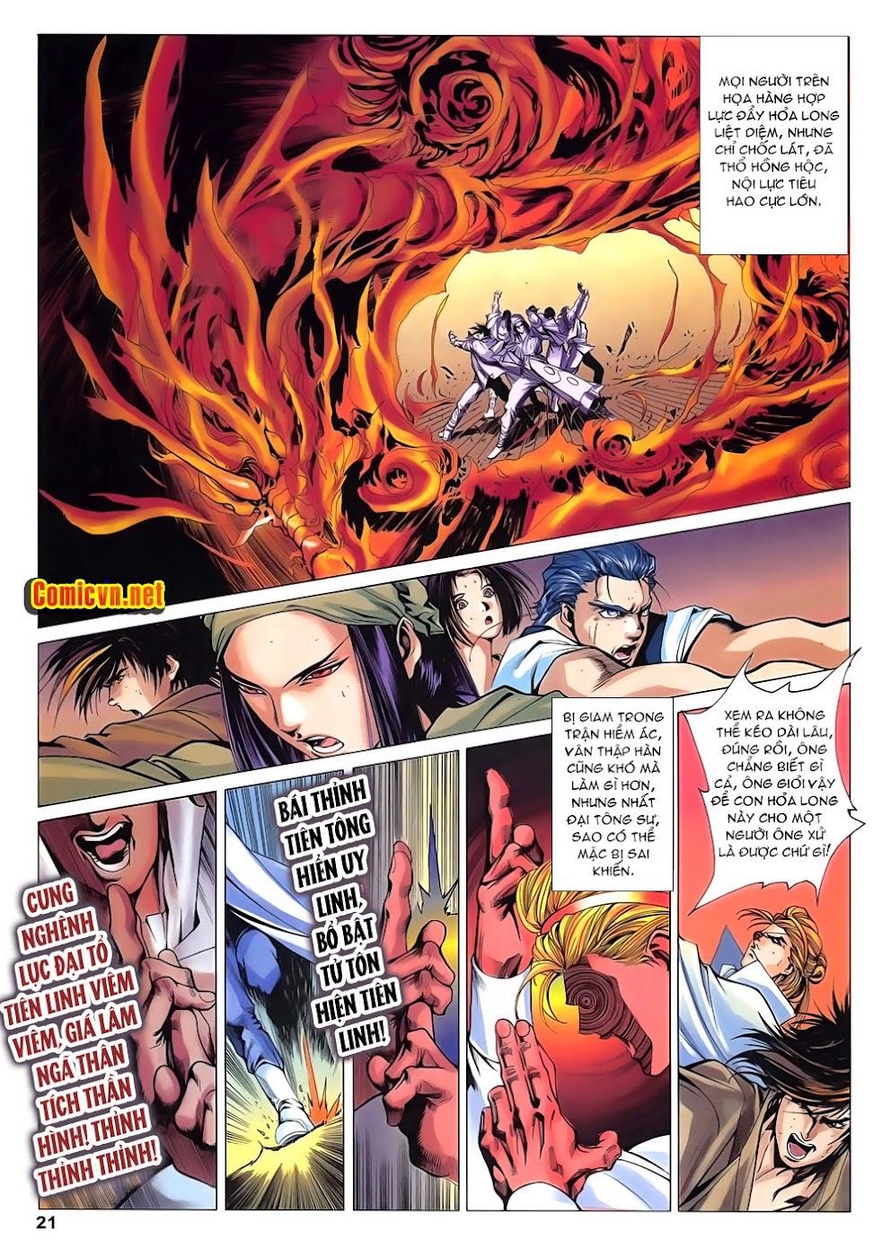 Lục Đạo Thiên Thư chap 15 - Trang 21