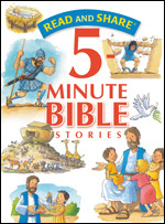 Read and Share 5-Minute Bible Stories cover' imageanchor=