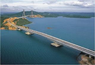 Pulau Batam, Pulau Tonton, Pulau Nipah, Pulau Rempang, Pulau Galang dan Pulau Galang Baru