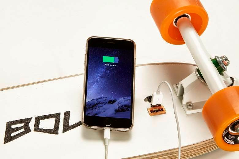 Bolt can also charge your phone