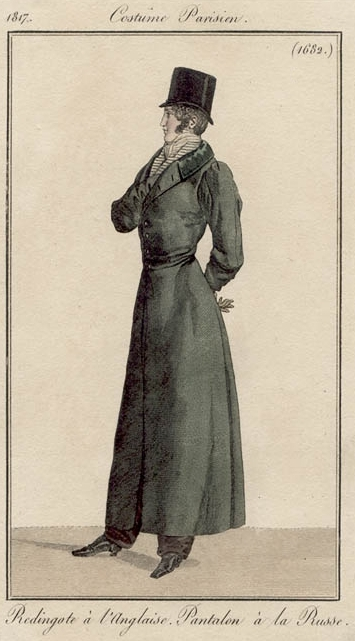 Costume Parisien 1817